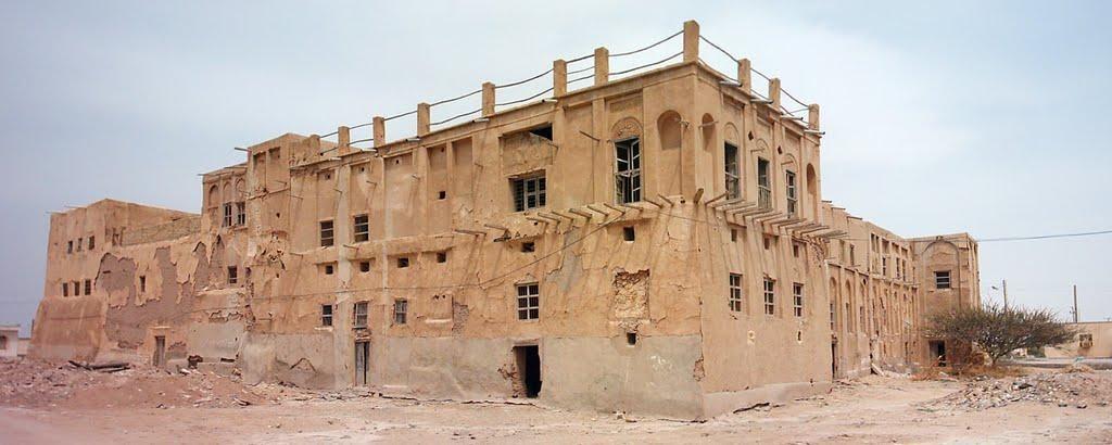 قلعه مغویه در بندرلنگه