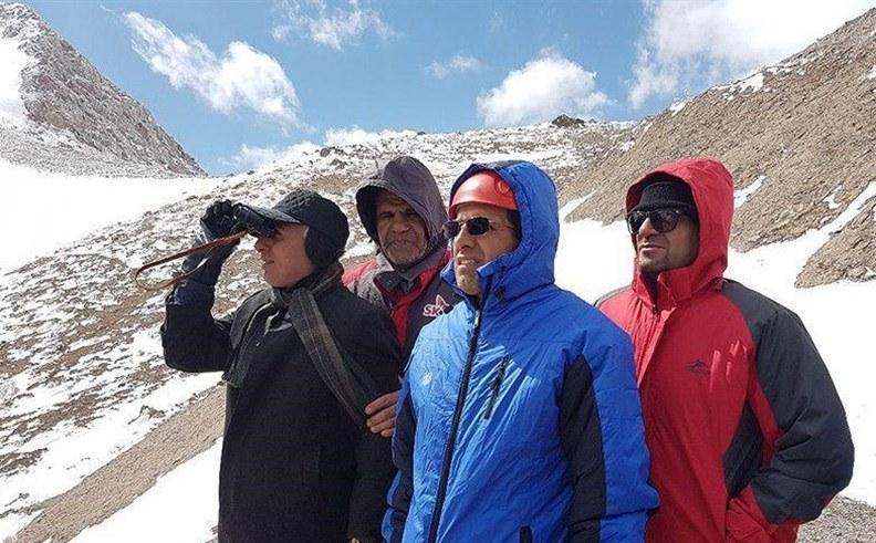 اعزام تیم کوهنوردی به محل سقوط هواپیما