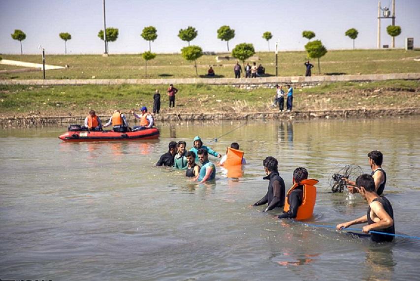 غرقشدگی کودکان در رودخانه چم بشیر