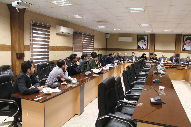 نشست بررسی پروژههای عمرانی شهرستان رودبار 1