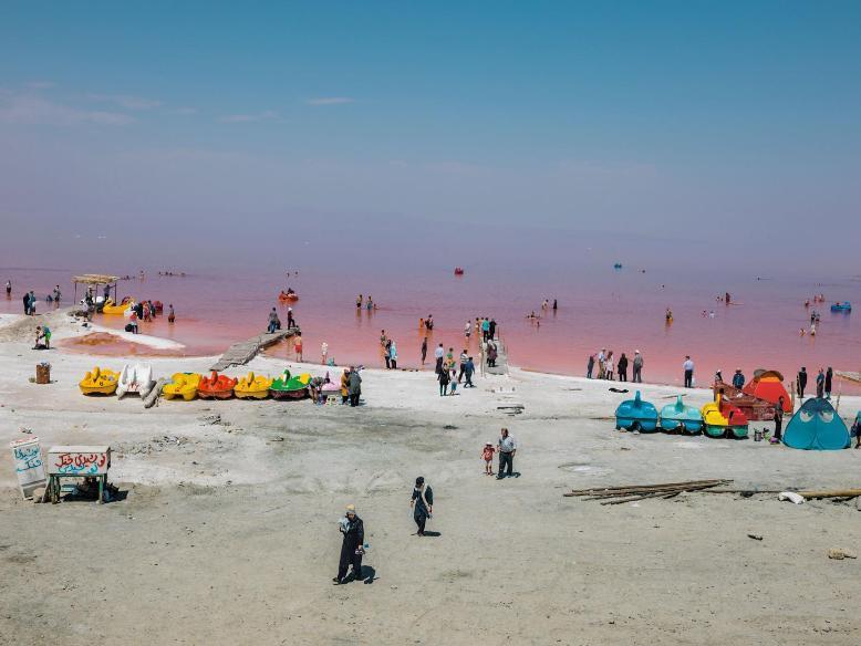 دریاچه ارومیه قبل از انقلاب1
