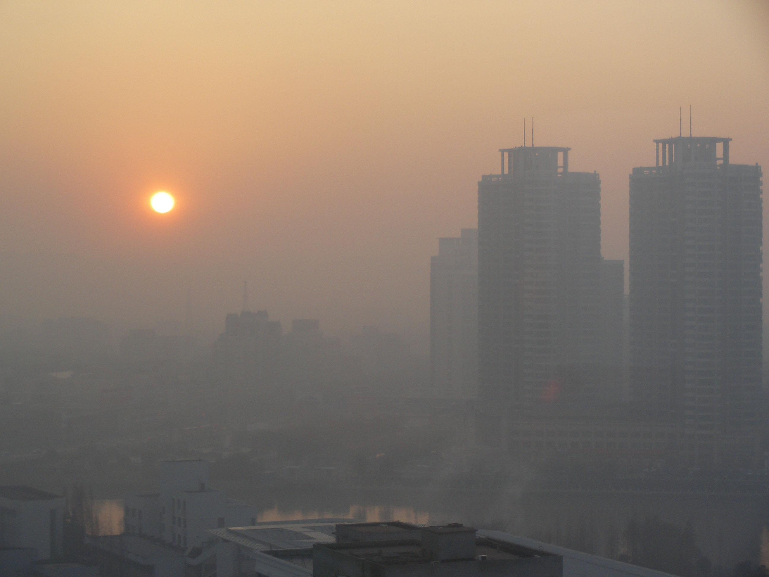 آلودگی هوای تهران در 16 بهمن