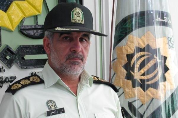 فرمانده انتظامی شهرستان
