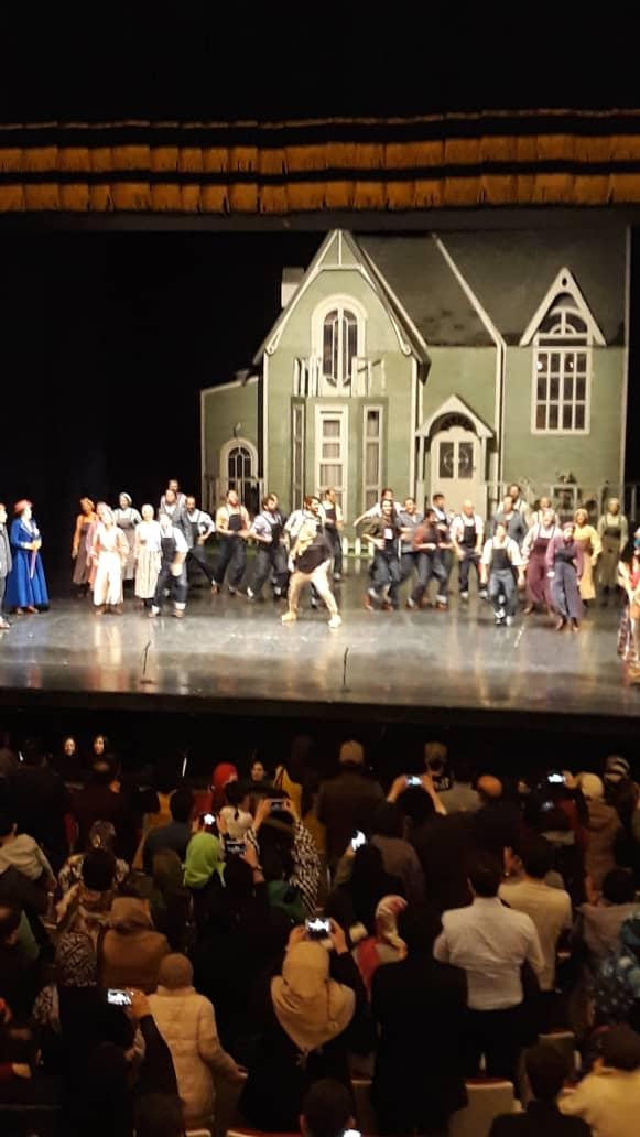 اجرای پایانی نمایش مری پاپینز