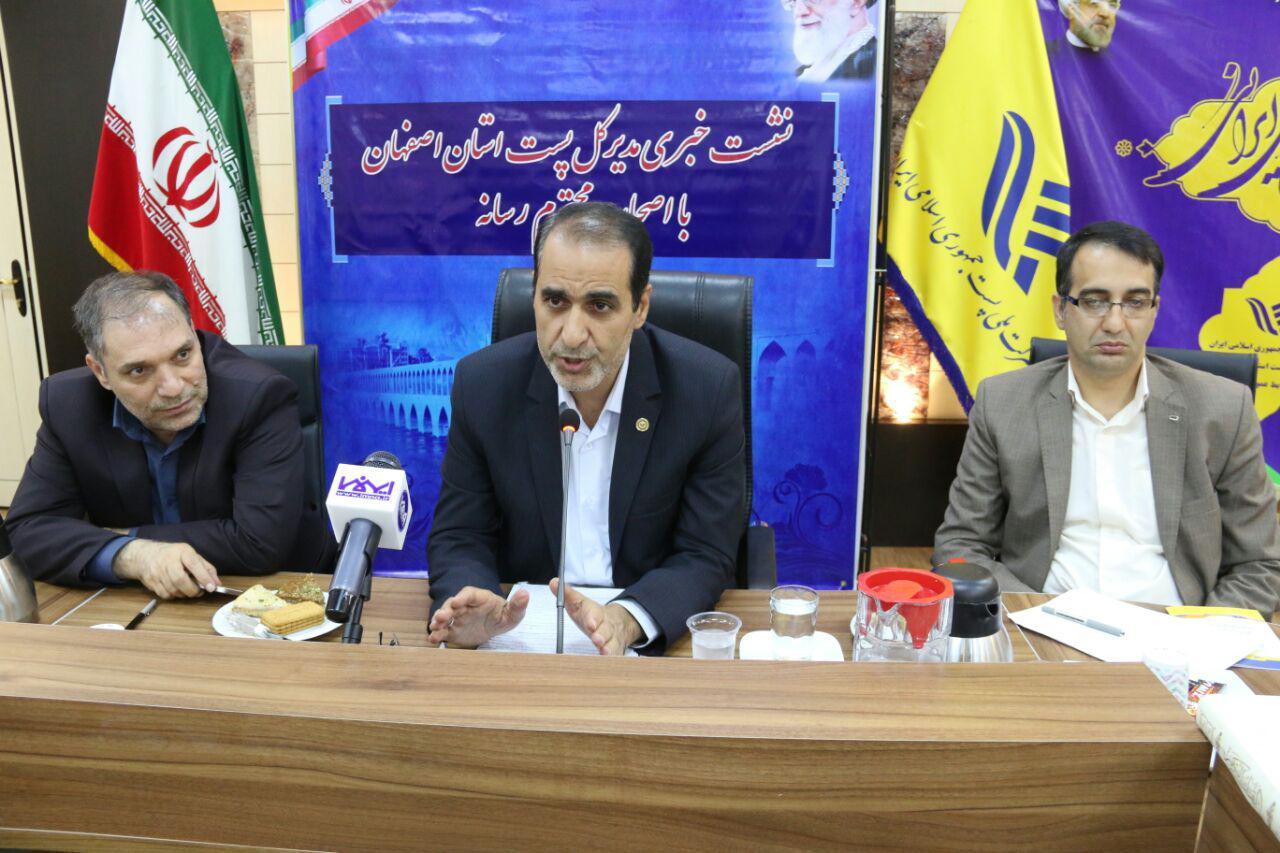شرکت پست اصفهان
