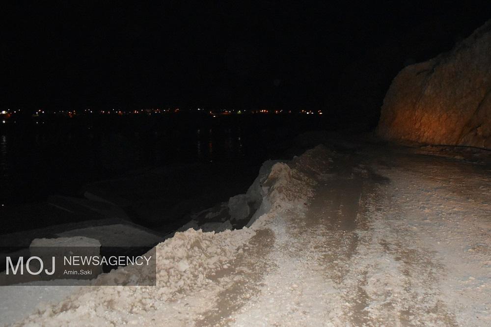 تخریب جاده پلدختر به خرم آباد