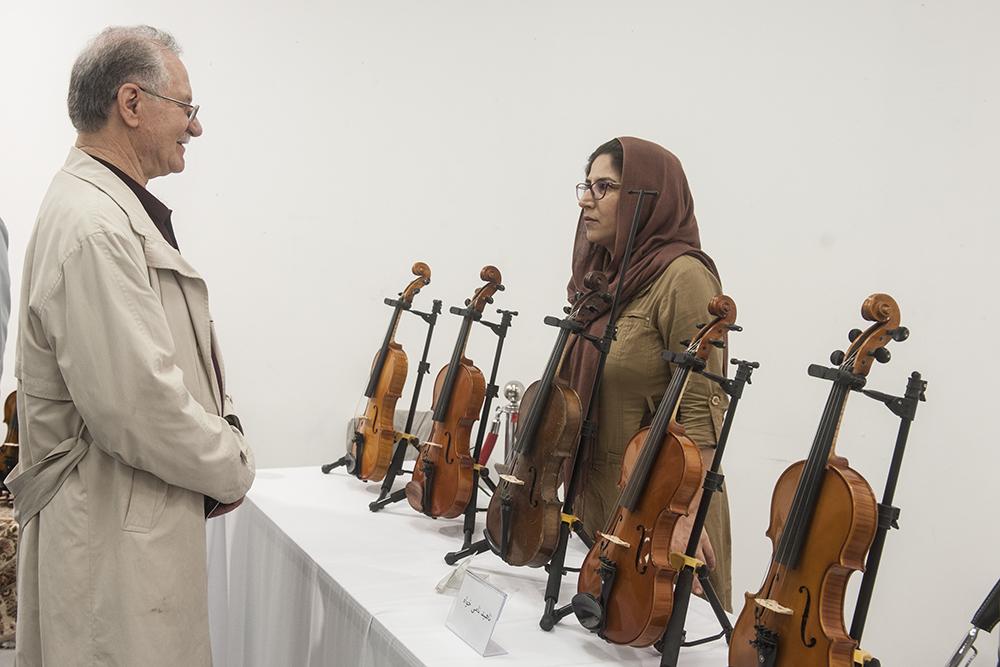 دومین نمایشگاه سازخانه موسیقی