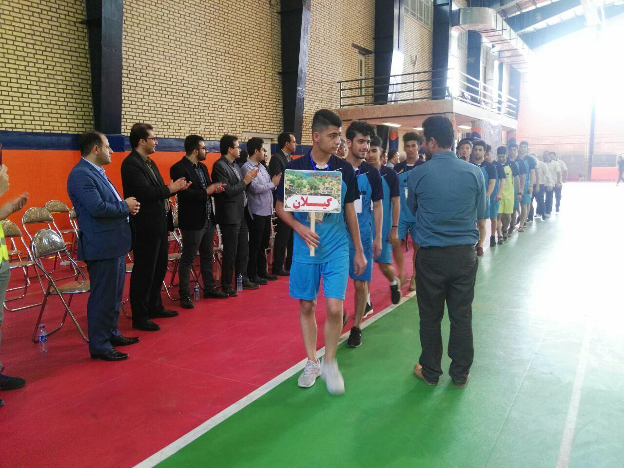 المپیاد ورزشی دانشآموزی سما منطقه شمال کشور در رشت