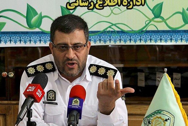 رییس پلیس راهنمایی و رانندگی اصفهان