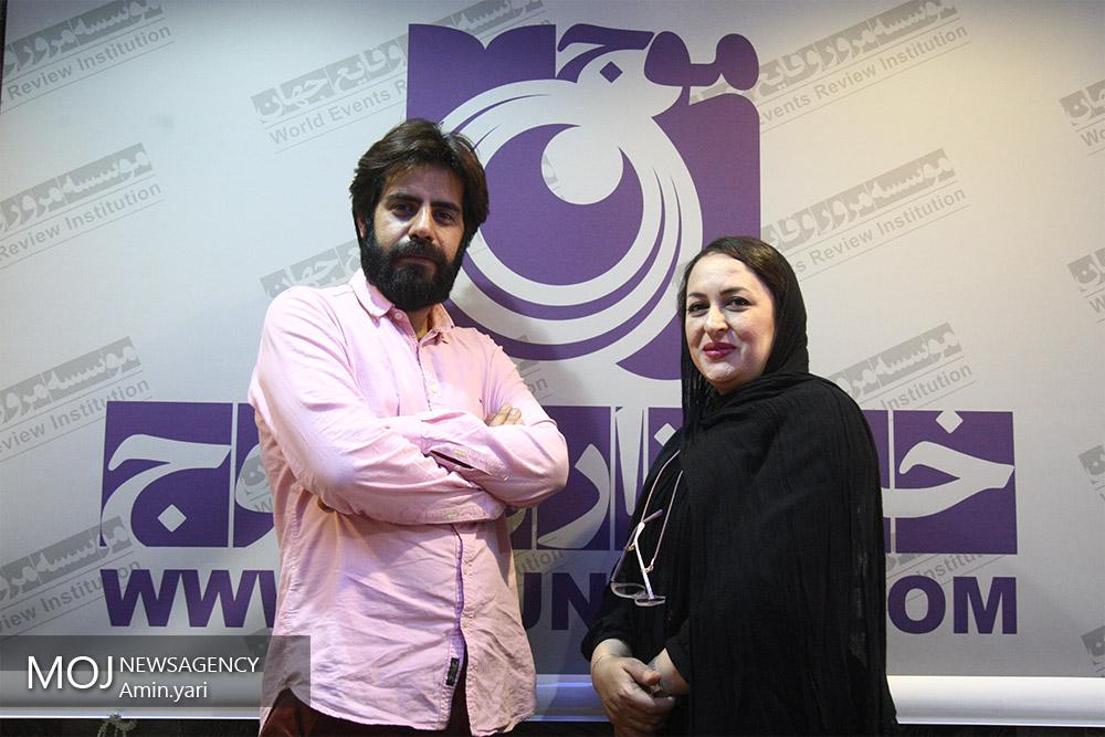 سلمان فرخنده و میترا مومنی