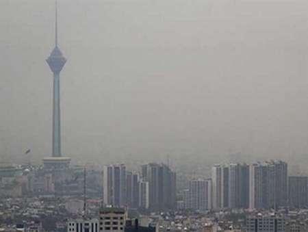 Image result for تهران آلوده