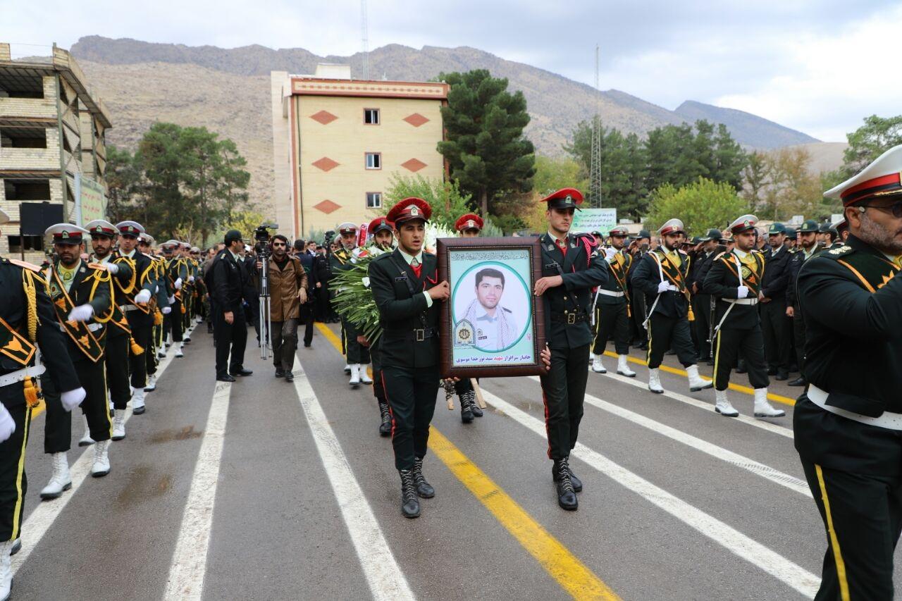 تشییع و تدفین شهید نورخدا موسوی