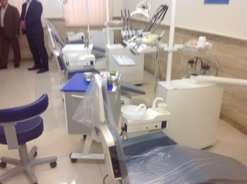 پلمب یک کلینیک دندانپزشکی فاقد مجوز در رشت