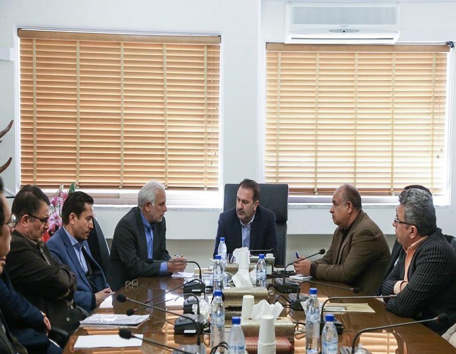 عنایت اله رحیمی استاندار فارس در دیدار با رئیس و معاونین دانشگاه علوم پزشکی شیراز 3