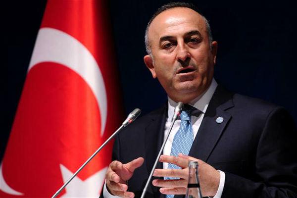 سفر وزیر خارجه ترکیه به آمریکا