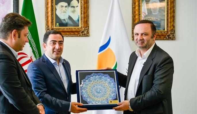 گیلان-دیدار مدیرعامل سازمان بنادر و دریانوردی جمهوری آذربایجان از منطقه آزاد انزلی