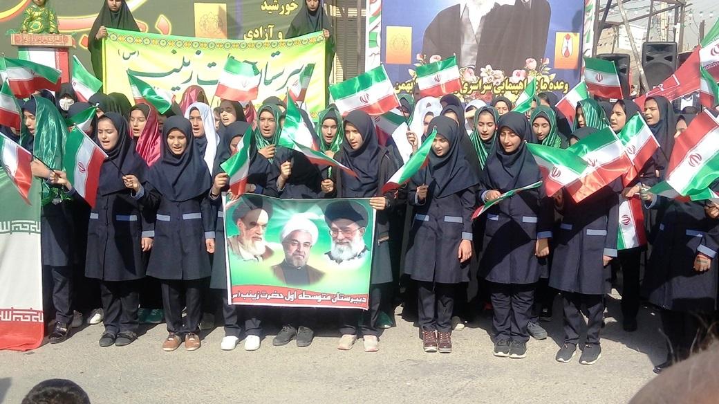 راهپیمایی 22 بهمن چرام (16)