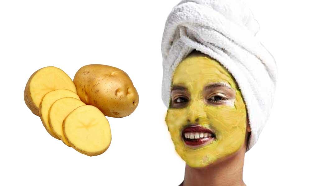 تاثیر ماسک سیب زمینی و زردچوبه بر پوست