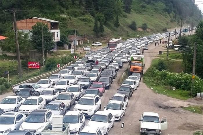 جاده و ترافیک آخر هفته