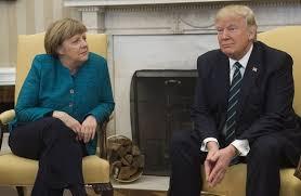 مرکل و ترامپ