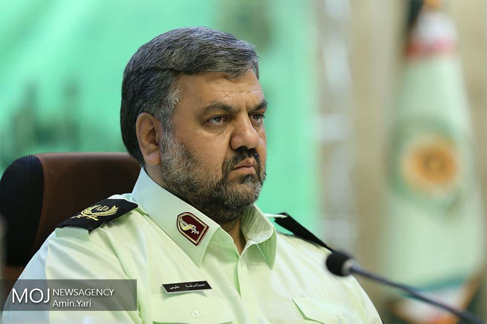 سردار محمد رضا مقیمی رییس آگاهی نیروی انتظامی