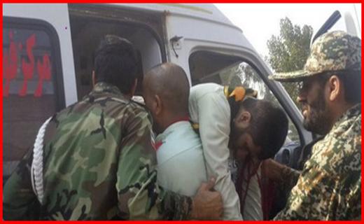 مصدومین حمله تروریستی در اهواز
