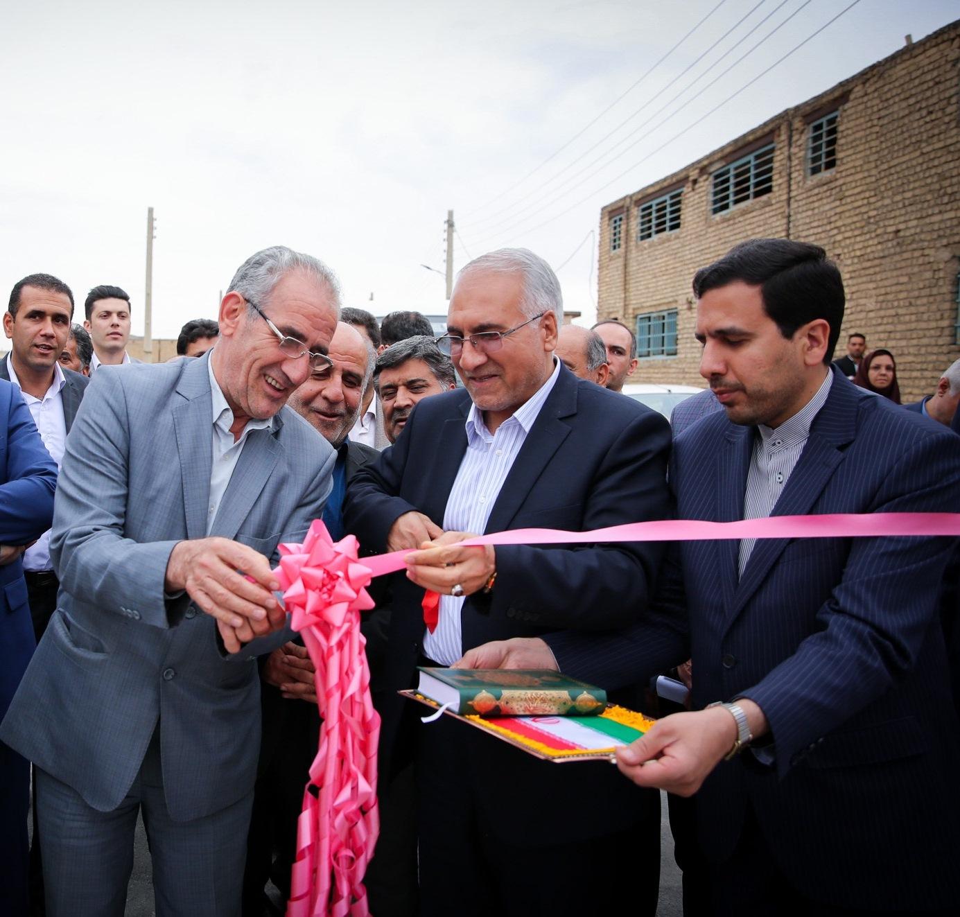 افتتاح پروژه شهرداری
