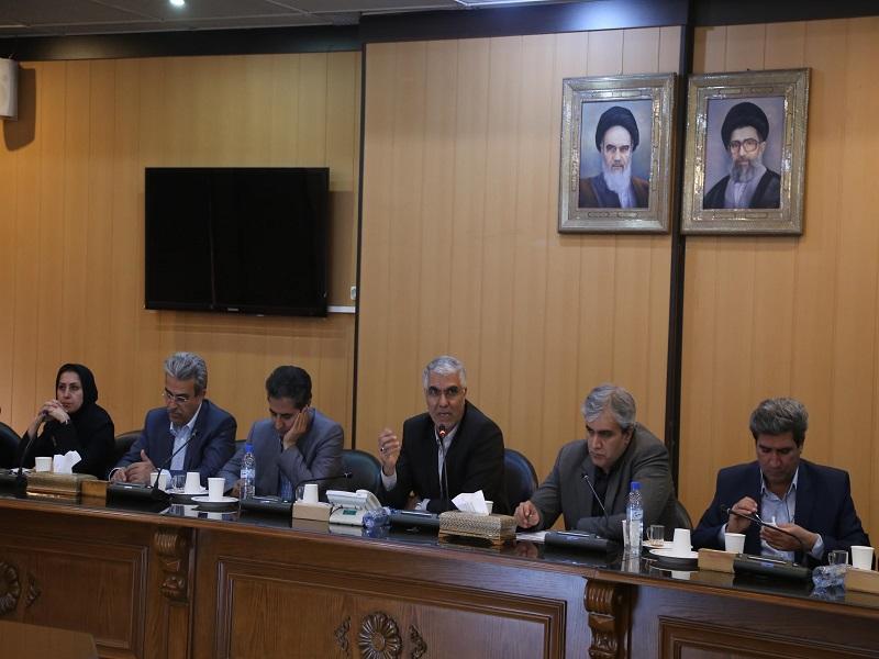 اسماعیل تبادار استاندار فارس در جلسه شورای راهبردی توسعه فرهنگی فارس
