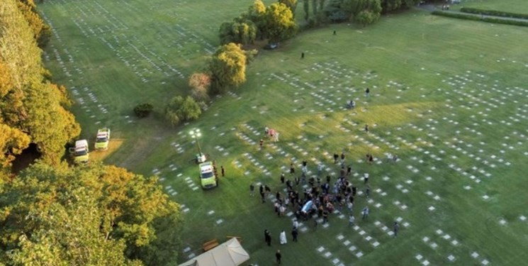 مراسم خاکسپاری مارادونا
