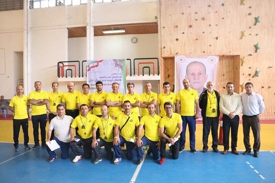 مسابقات معلمان ورزش استان