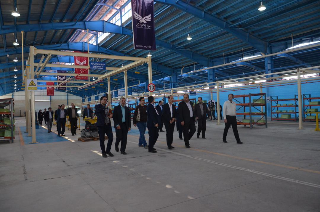 بازدید خط تولید خودروهای شاسی بلند و کراس اوور در ساوه 1