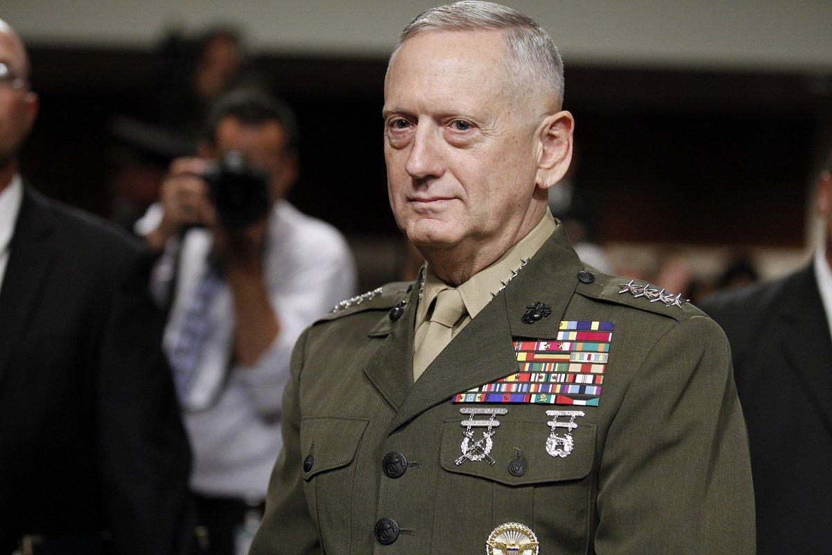 جیمز ماتیس وزیر دفاع آمریکا