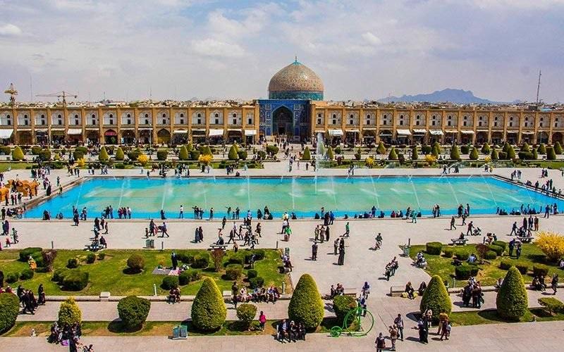 اصفهان- میدان نقش جهان