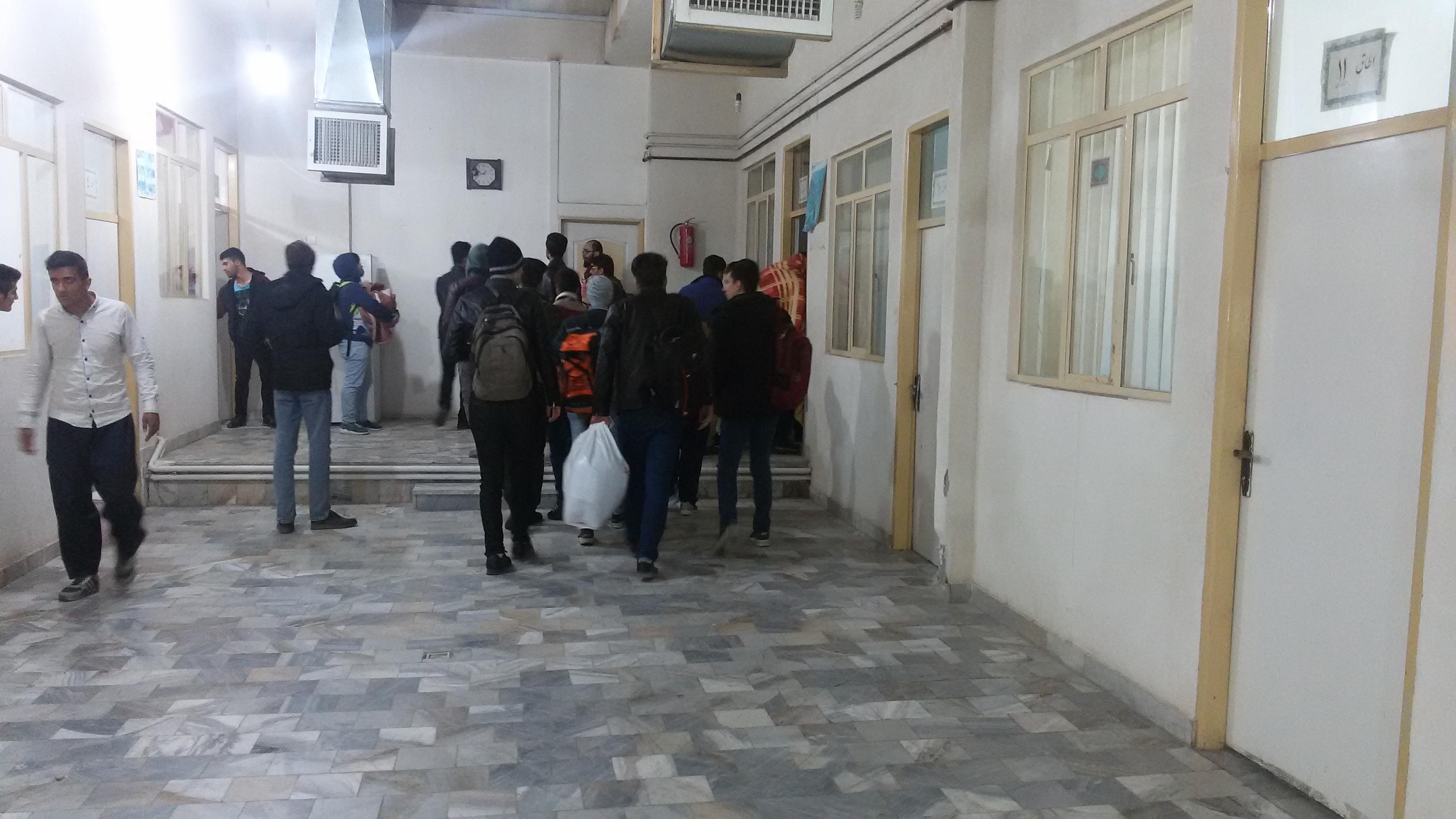اسکان دانشجویان