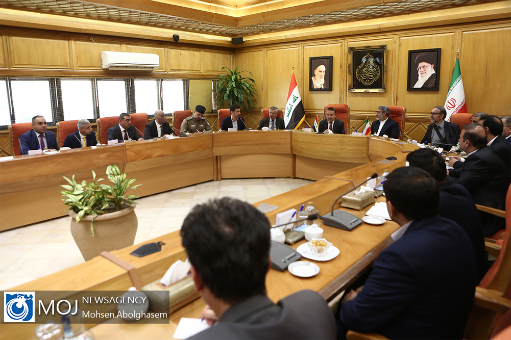 دیدار وزیر کشور عراق با رحمانی فضلی