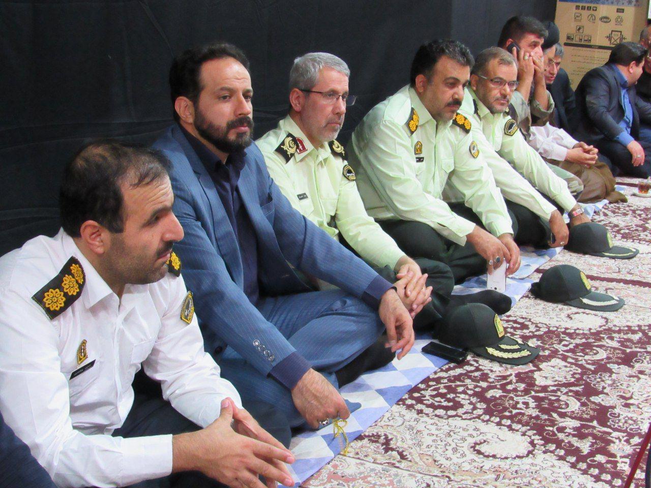 فرمانده نیروی انتظامی در خمینی شهر