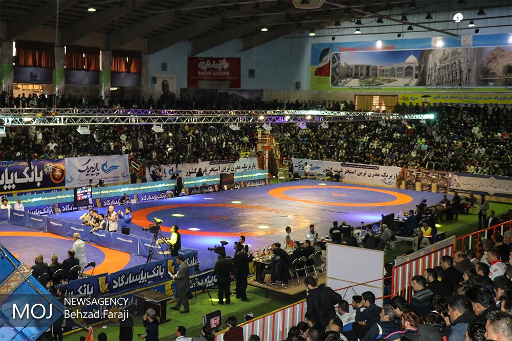 سی و نهمین دوره رقابتهای بینالمللی کشتی آزاد جام تختی در کرمانشاه