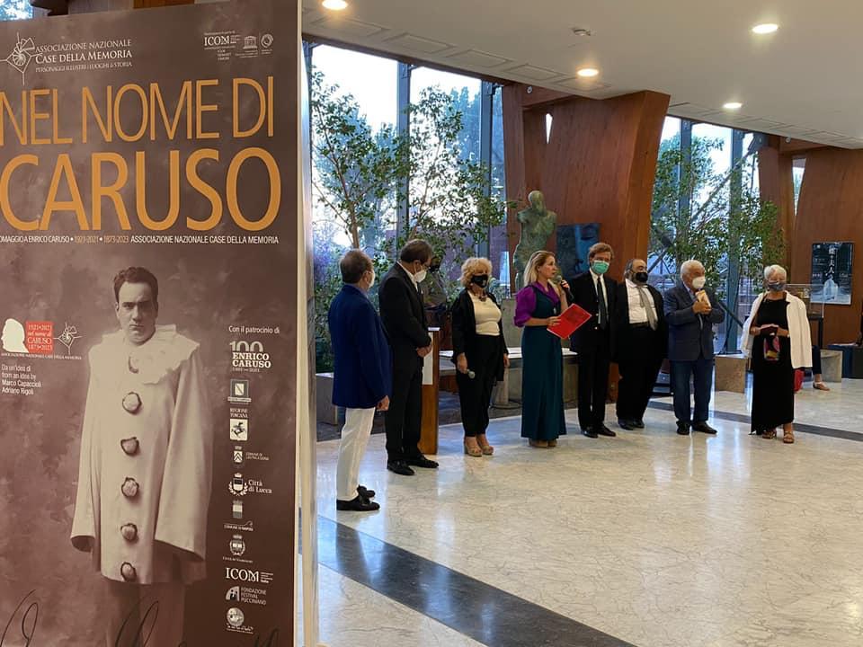 اختتامیه جشنواره  بین المللی کاریکاتور چهره انریکه کاروسو کشور ایتالیا