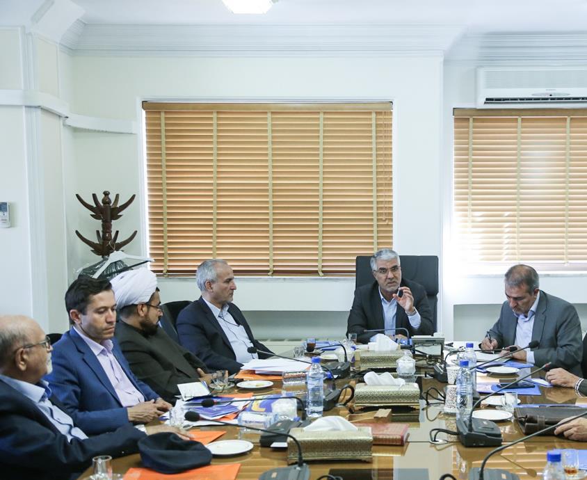 اسماعیل تبادار در جلسه هماهنگی برگزاری المپیاد فرهنگی ورزشی دانشجویان کشور در شیراز
