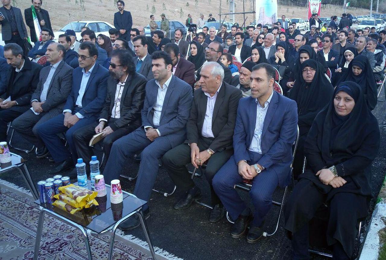 افتتاح 4 بوستان خرم آباد