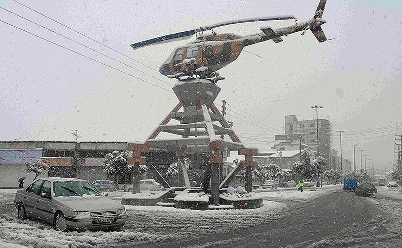برف و تعطیلی مدارس