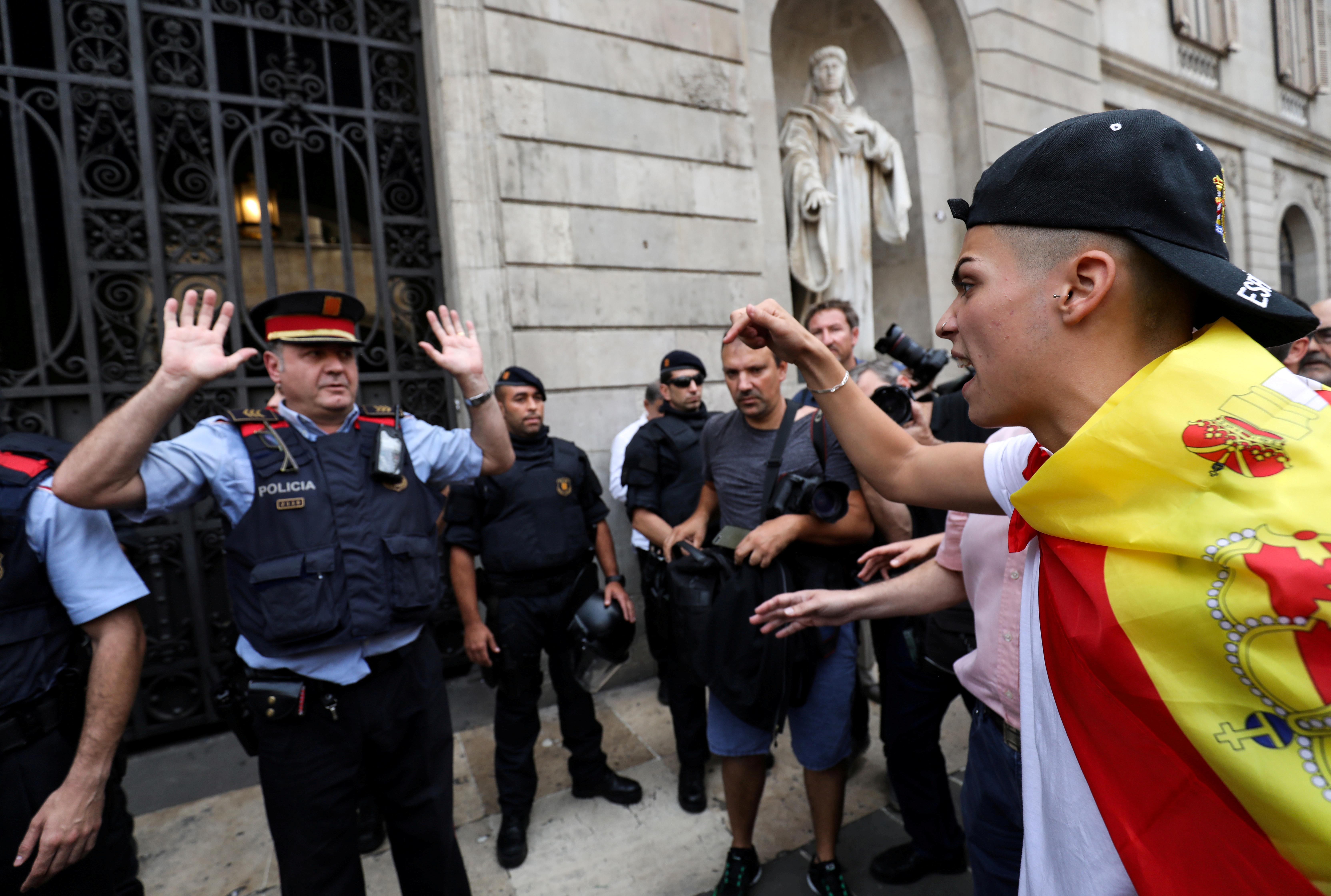 خشونت در کاتالونیا