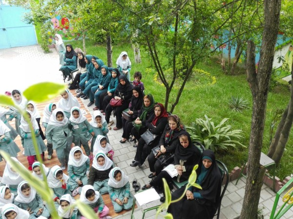 مدرسه سبز +سما لاهیجان