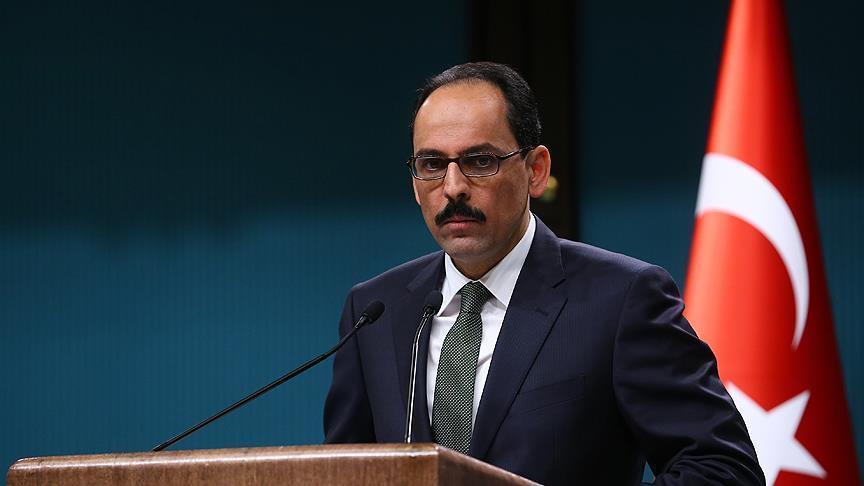 ابراهیم کالین سخنگوی اردوغان