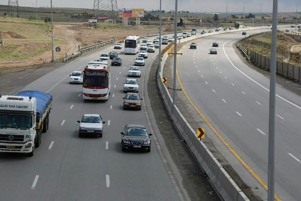 وضعیت تردد جادهای
