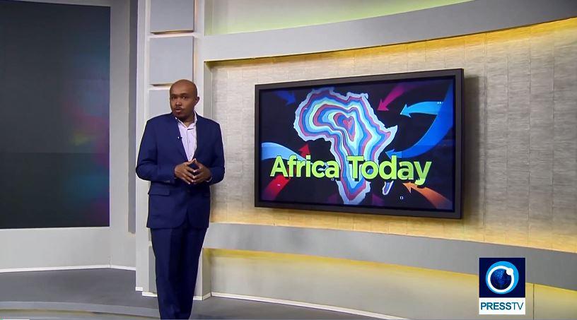هنیا مبارک مجری برنامه آفریقای امروز