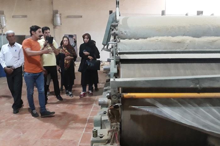 خوشه فرش لرستان در تبریز