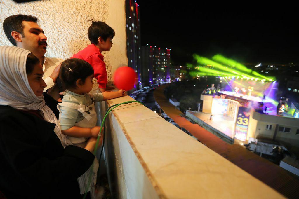 افتتاحیه  سی و سومین جشنواره بین المللی فیلمهای کودکان و نوجوانان