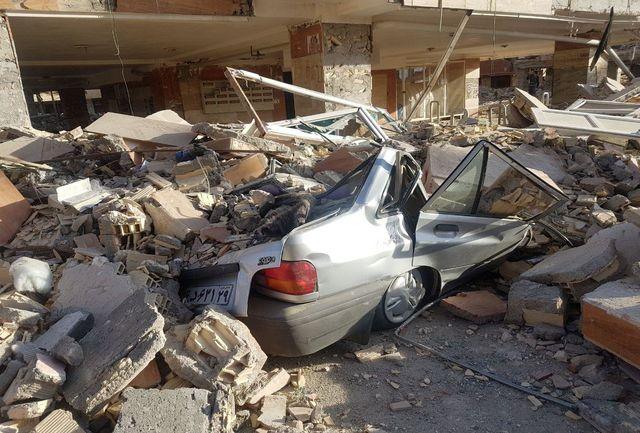 5.9 ریشتری شب گذشته زلزله در شهرستان تازهآباد کرمانشاه