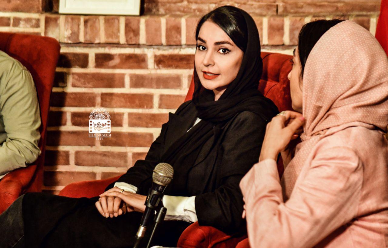 مهدیه نساج در نشست نقد و بررسی«دشت خاموش» در موزه سینمای ایران